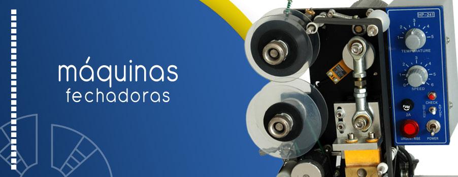 Fechadoras y etiquetadoras industriales Quito Guayaquil